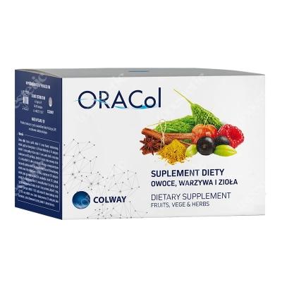 Colway ORACol Suplement diety Owoce, Warzywa i Zioła 60 kaps.