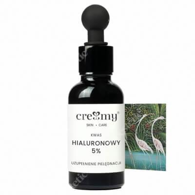Creamy Kwas Hialuronowy 5% Intensywnie nawilżający, konserwowany ekologicznie 30 ml