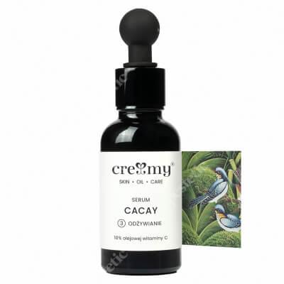 Creamy Serum Cacay Serum ujędrniające z wit. C 30 ml