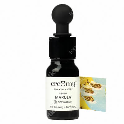 Creamy Serum Marula Serum odżywcze do twarzy 10 ml