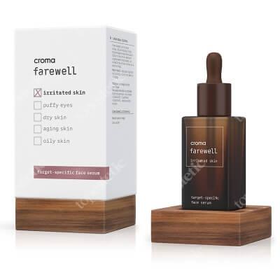 Croma Farewell Irritated Skin Serum przeznaczone dla skóry podrażnionej i wrażliwej 30 ml