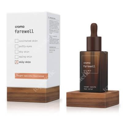 Croma Farewell Oil Skin Serum przeznaczone dla skóry tłustej 30 ml