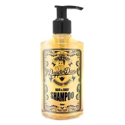 Dapper Dan Hair And Body Szampoo Szampon do włosów 300 ml