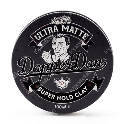 Dapper Dan Ultra Matte Super Hold Clay Pomada do włosów 100 ml