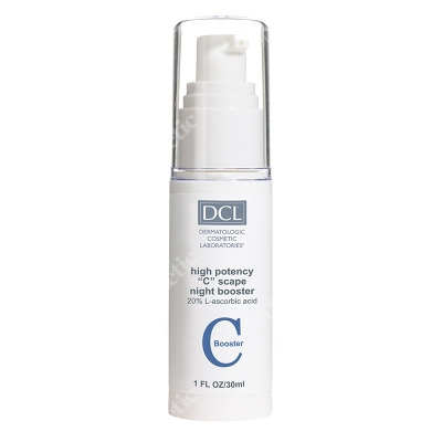 DCL High Potency C Scape Night Booster 20% Kwas L-askorbinowy 30 ml