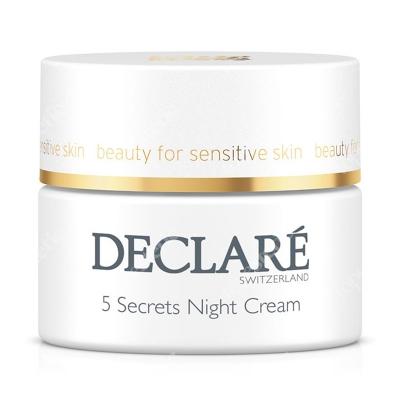 Declare 5 Secrets Night Cream 5 Sekretów Krem na noc 50 ml