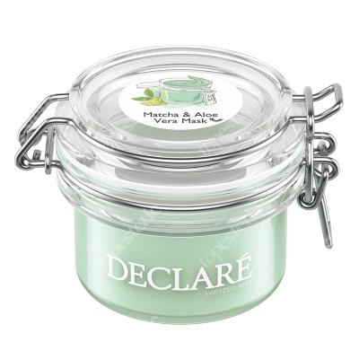 Declare Matcha & Aloe Vera Mask Maska zielona herbata i aloes 50 ml