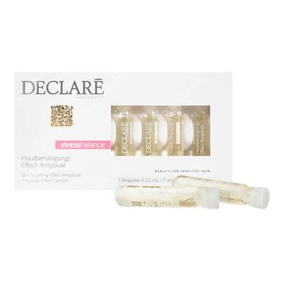 Declare Stress Balance Skin Soothing Effect Ampoule Stress Balance Ampułki łagodzące 7 x 2,5 ml