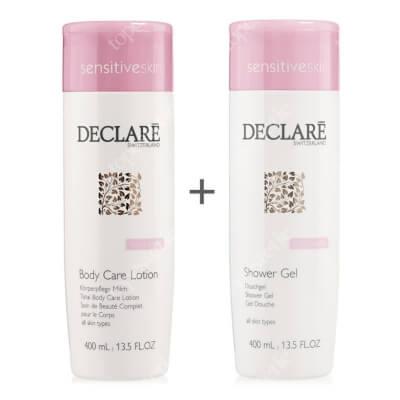 Declare Total Body Care Lotion + Shower Gel ZESTAW Balsam do ciała 400 ml + Żel pod prysznic 400 ml