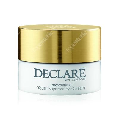 Declare Youth Supreme Eye Cream Młodzieńcza doskonałość, Krem odmładzający pod oczy 15 ml