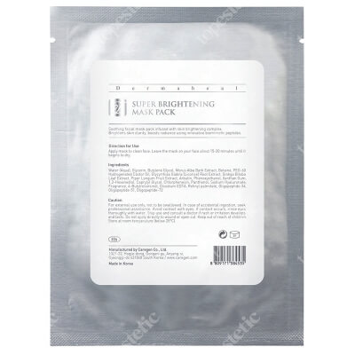 Dermaheal Super Brightening Mask Pack Maska rozjaśniająca 22 g