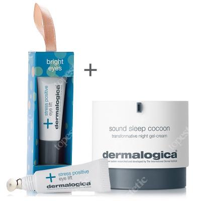 Dermalogica Night Out Skin Fit ZESTAW Kremowo – żelowa aktywna maska 10 ml + Krem-żel 50 ml