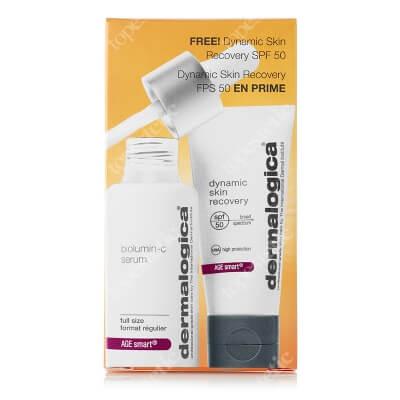 Dermalogica Protect & Prevent ZESTAW Rozjaśniające serum z witaminą C, 30 ml + Ochronny krem regenerujący z filtrem 12 ml