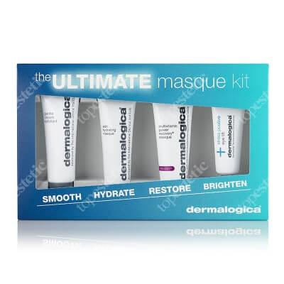 Dermalogica The Ultimate Masque Kit ZESTAW Kremowo – żelowa aktywna maska 6 ml + Maseczka o działaniu rewitalizującym 10 ml + Maska nawilżająca 10 ml + Peeling 10 ml