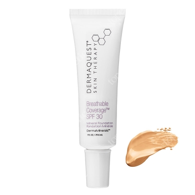 Dermaquest DermaMinerals Breathable Coverage Mineral Foundation SPF 30 Terapeutyczny podkład kryjący SPF 30 - kolor 3N 29.6 ml
