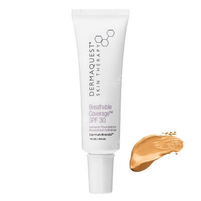Dermaquest DermaMinerals Breathable Coverage Mineral Foundation SPF 30 Terapeutyczny podkład kryjący SPF 30 - kolor 4N 29.6 ml