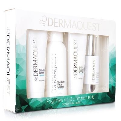 Dermaquest Pigment Control Kit ZESTAW Krem 29 ml + Żel 59 ml + Krem 28 ml + Serum 14 ml
