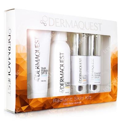 Dermaquest Radiant Skin Kit ZESTAW Żel 60 ml + Serum 15 ml + Krem 30 ml + Serum 15 ml
