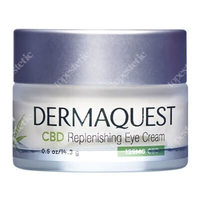 Dermaquest CBD Replenishing Eye Cream Krem na okolice oczu 15 ml