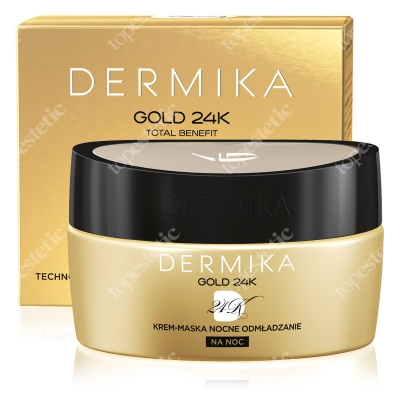 Dermika Cream-Mask Night Rejuvenation Krem-maska nocne odmładzanie 50 ml