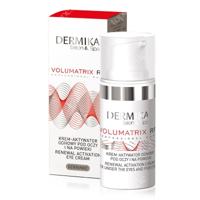 Dermika Skin Philosophy Volumatrix - Renewal Activation Eye Cream Krem, aktywator odnowy pod oczy i na powieki 15 ml