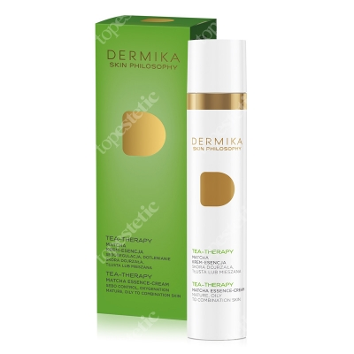 Dermika Skin Philosophy Tea Therapy Matcha Krem esencja 50 ml