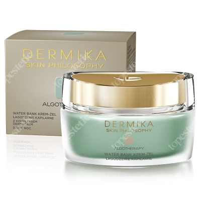 Dermika Skin Philosophy Algotherapy - Capillary Soothing Cream Gel Krem-żel, łagodzenie kapilarne 50 ml