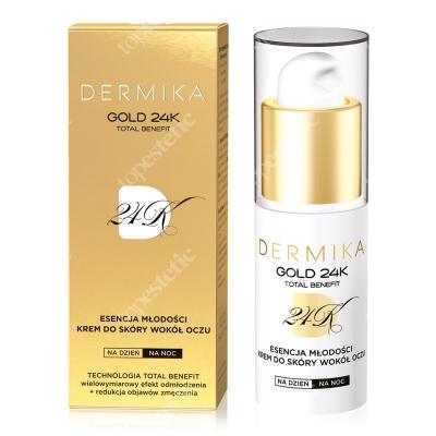 Dermika Youth Essence Eye Cream Esencja młodości, krem do skóry wokół oczu 15 ml