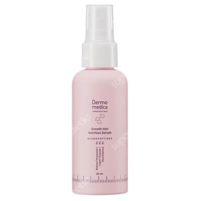 Dermomedica Growth Hair Nutrition Serum Serum do skóry głowy z kompleksem peptydowo-miedziowym, pochodną biotyny i glukonolaktonem 60 ml