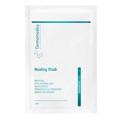 Dermomedica Healing Mask Nanocelulozowa maska terapeutyczna o działaniu gojącym i przeciwstarzeniowym 1 szt.