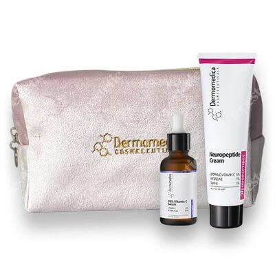 Dermomedica Pielęgnacja Przeciwstarzeniowa ZESTAW Aktywne serum z 20% witaminą C i kwasem ferulowym 30 ml + Krem z neuropeptydami 60 ml
