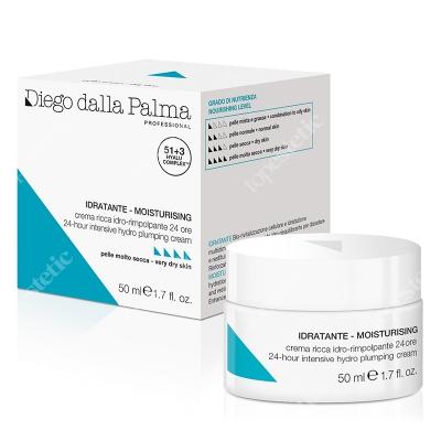 Diego Dalla Palma 24 Hour Hydro Plumping Cream Intensywny krem wypełniający 50 ml
