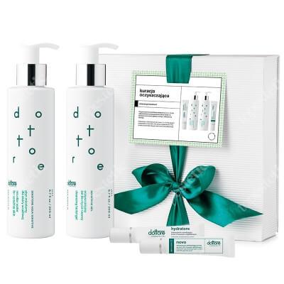 Dottore Kuracja Oczyszczająca 2020 Płyn micelarny 200 ml + Żel do mycia twarzy 200 ml + Hydratore krem 5 % 15 ml + Novo krem 8% 15 ml