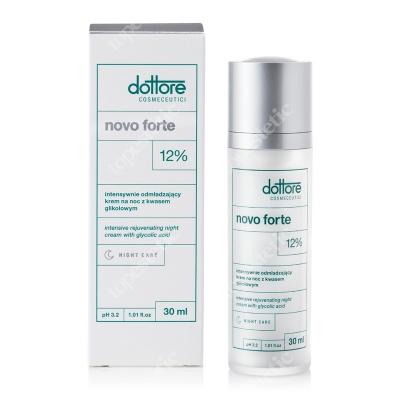 Dottore Novo Forte 12 % Intensywnie odmładzający krem na noc z 12 % kwasem glikolowym 30 ml