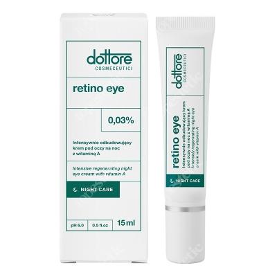 Dottore Retino Eye Intensywnie odbudowujący krem pod oczy na noc z witaminą A (retinol 0,03%) 15 ml