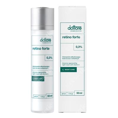 Dottore Retino Forte Intensywnie odbudowujący krem na noc z witaminą A (retinol 0,3%) 50 ml