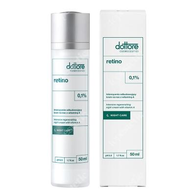 Dottore Retino Intensywnie odbudowujący krem na noc z witaminą A (retinol 0,1%) 50 ml