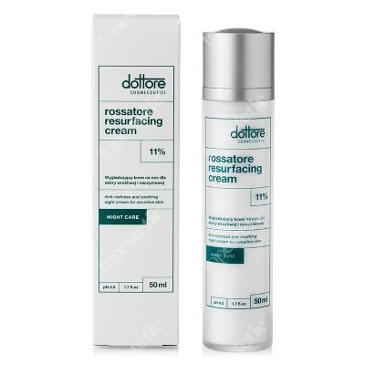 Dottore Rossatore Resurfacing Cream Wygładzający krem na noc do cery naczyniowej i wrażliwej 50 ml