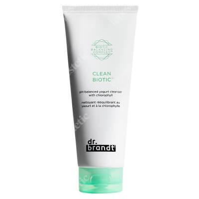 Dr Brandt Clean Biotic Ph Balanced Yogurt Cleanser With Chlorophyll Jogurtowy preparat oczyszczający 100 ml