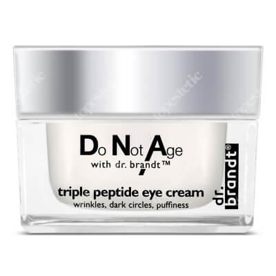 Dr Brandt Triple Peptide Eye Cream Przeciwzmarszczkowy krem pod oczy z peptydami 15 g