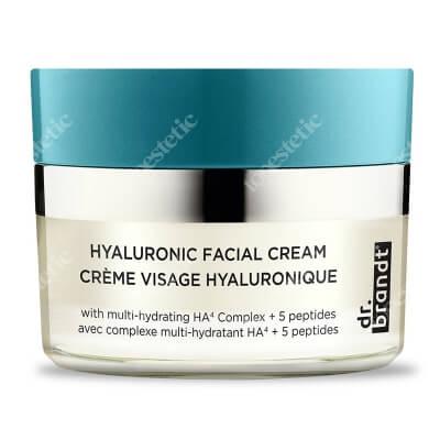 Dr Brandt Hyaluronic Facial Cream Krem do twarzy z kwasem hialuronowym i peptydami 50 g