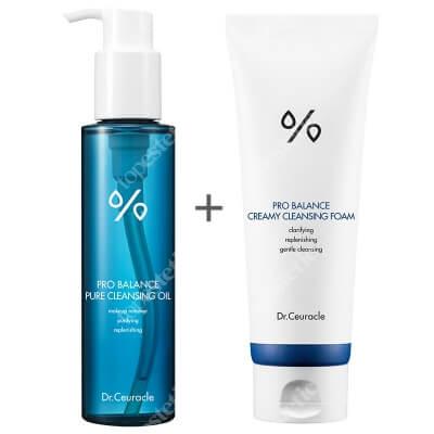 Dr Ceuracle Pro Balance Cleansing Set ZESTAW Olejek myjący 155 ml + Kremowa pianka do mycia twarzy 150 g
