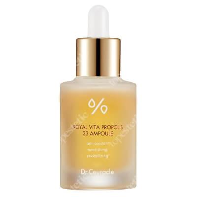 Dr Ceuracle Royal Vita Propolis 33 Ampoule Wielozadaniowa ampułka z ekstraktem z propolisu intensywnie odżywia, rozświetla poszarzałą skórę 30 ml