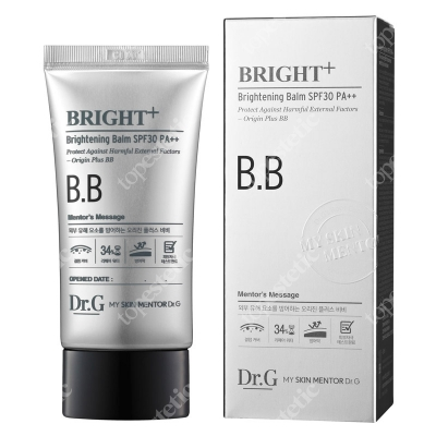 Dr G Bright+ Brightening Balm SPF 30 Multifunkcyjny krem bb z filtrem 45 ml