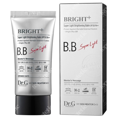 Dr G Bright+ Super Light Brightening Balm SPF30 Super lekka wersja kremu BB 45 ml