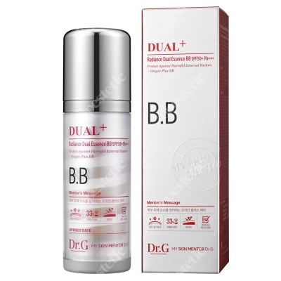 Dr G Dual+ Radiance Dual Essence BB SPF 50 Krem BB z kryształowym pudrem 45 ml