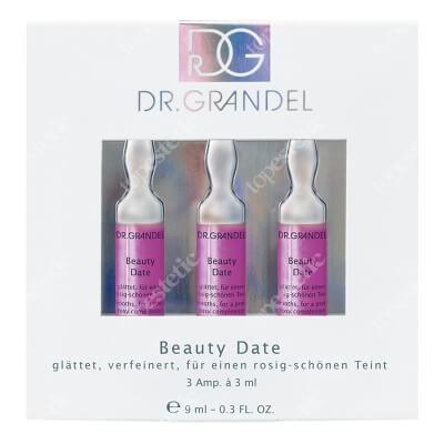 Dr Grandel Beauty Date Ampułka z peptydami. Redukuje zmarszczki mimiczne 3x3 ml