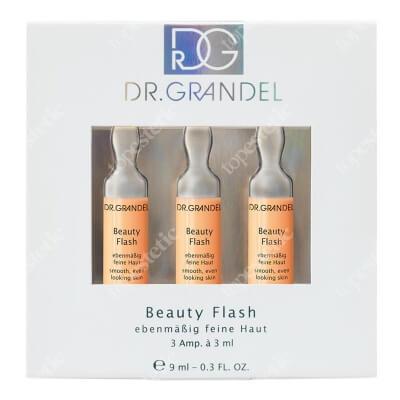 Dr Grandel Beauty Flash Ampułka oczyszczająco-łagodząca, dla skóry tłustej i mieszanej 3x3 ml