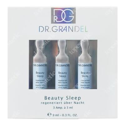 Dr Grandel Beauty Sleep Nocna regeneracja skóry: nawilża, wygładza, koi i relaksuje 3x3 ml