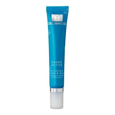Dr Grandel Eye Contour Cream and Mask Maska nawilżająco-relaksująca z kwasem hialuronowym dla skóry wokół oczu 20 ml